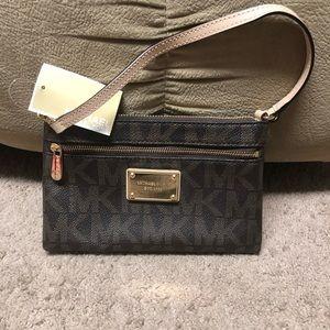 Michael Kors Jet Set Large Wristlet / small purse